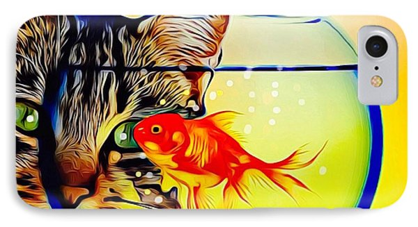 Guess Who's Coming To Dinner? IPhone Case by Ted Azriel