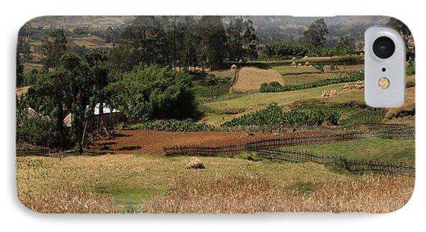 Guge Mountain Range Southern Ethiopia IPhone Case by Aidan Moran