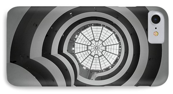 Guggenheim Museum IPhone Case by Inge Johnsson