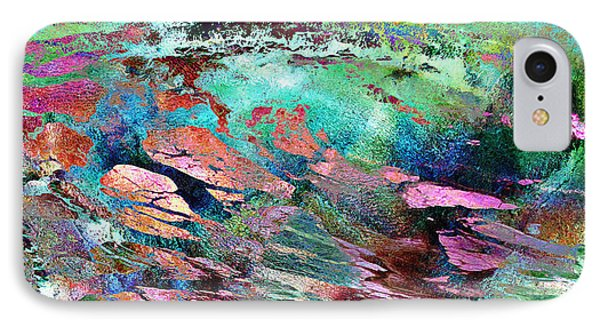 Guided By Intuition - Abstract Art Phone Case by Jaison Cianelli