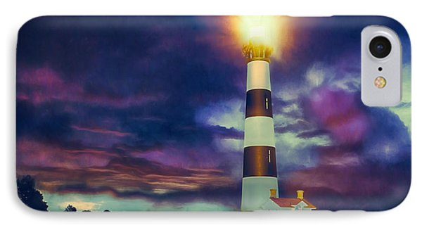 IPhone Case featuring the painting Guiding Light by Dan Carmichael