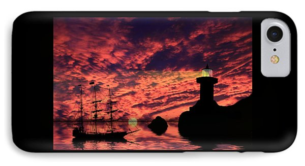 Guiding The Way Phone Case by Shane Bechler