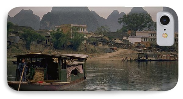 Guilin Limestone Peaks IPhone Case by Travel Pics