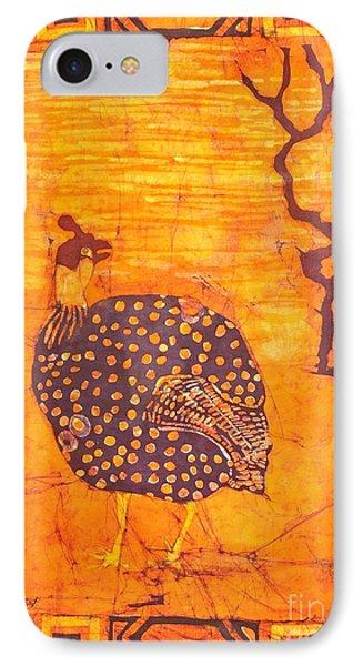 Guinea Fowl IPhone Case by Caroline Street