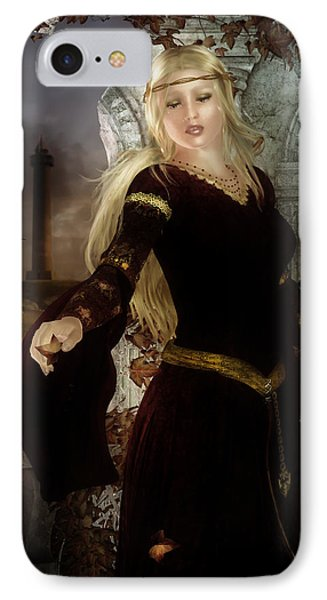 Guinevere's Tears IPhone Case by Mary Hood
