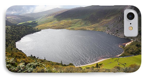 Guinness Lake In Wicklow Mountains  Ireland IPhone Case by Semmick Photo