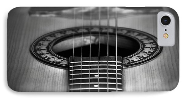 Guitar Close Up Phone Case by Svetlana Sewell