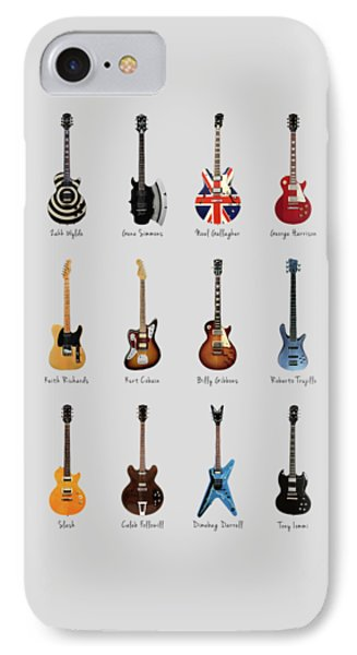 Guitar Icons No3 IPhone Case by Mark Rogan