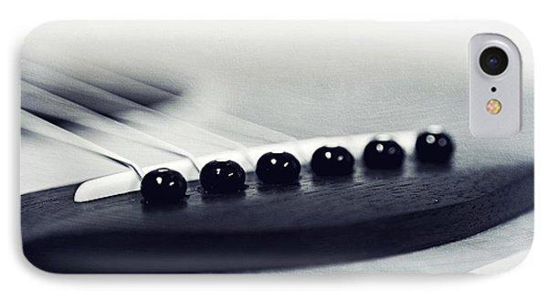guitar II Phone Case by Priska Wettstein