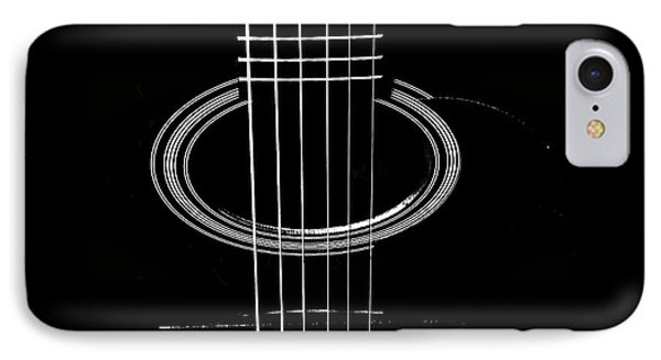 Guitar Strings IPhone Case by Susan Stone
