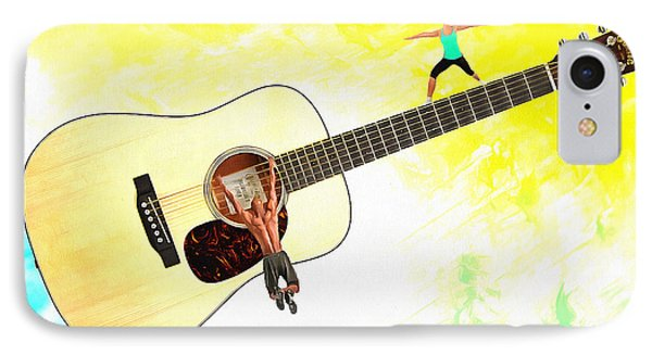 Guitar Workout IPhone Case by Anthony Caruso