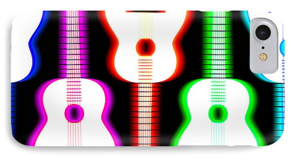 Guitars On Fire 5 Phone Case by Andy Smy