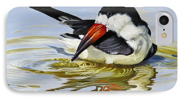 Gulf Coast Black Skimmer IPhone Case