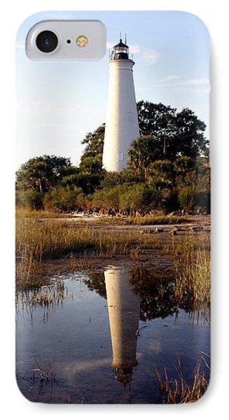Gulf Coast Lighthouse Phone Case by Marty Koch