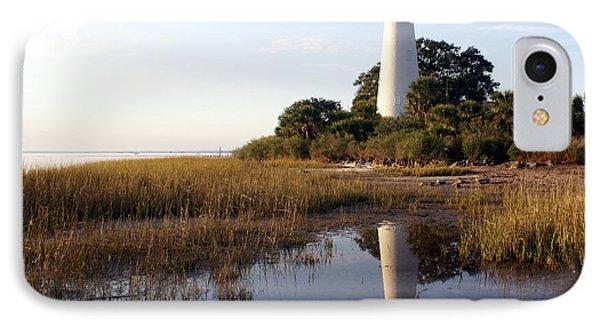 Gulf Coast Lighthouse2  Phone Case by Marty Koch