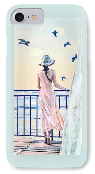 IPhone Case featuring the digital art Gulf Coast Morning by Jane Schnetlage