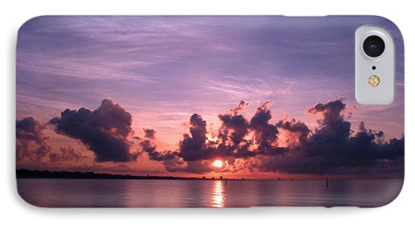 Gulf Coast Sunrise IPhone Case by Brian Wright