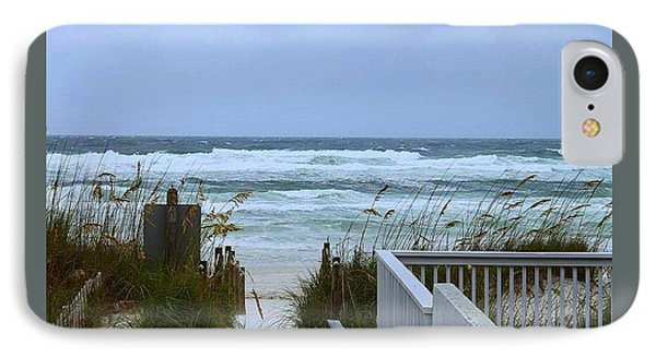 IPhone Case featuring the photograph Gulf Coast Waves by Debra Forand