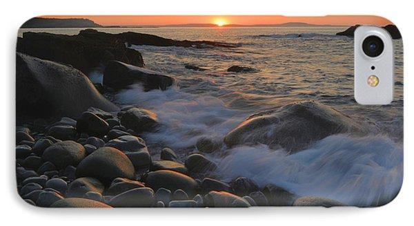 Gulf Of Maine Sunrise IPhone Case by Stephen  Vecchiotti