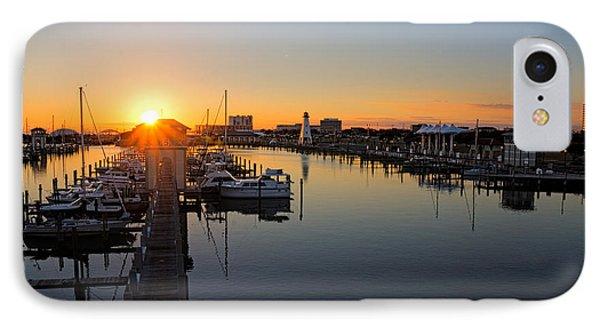 Gulfport Harbor Sunset IPhone Case