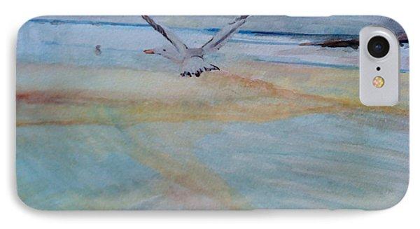 Gull In Flight IPhone Case