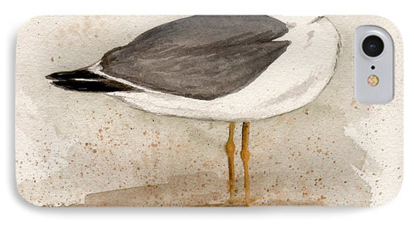 Gull IPhone Case by Nancy Patterson