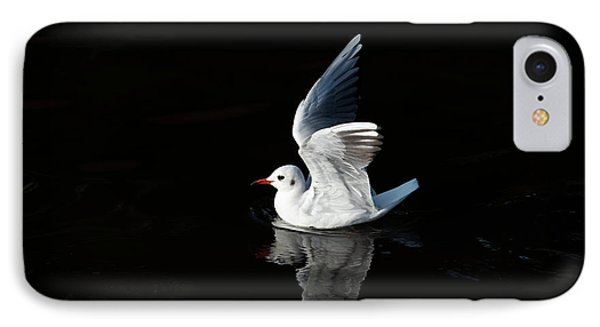 Gull On The Water IPhone Case by Michal Boubin