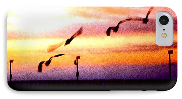 IPhone Case featuring the photograph Gull Play by Sadie Reneau