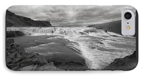 IPhone Case featuring the photograph Gullfoss Waterfall No. 1 by Joe Bonita