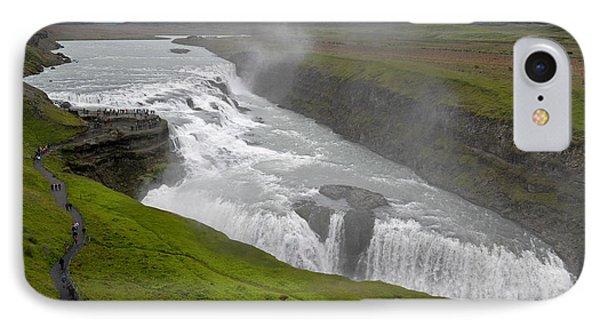 IPhone Case featuring the photograph Gullfoss Waterfall No. 2 by Joe Bonita
