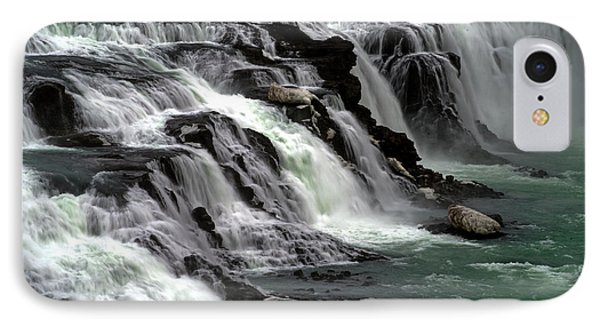 IPhone Case featuring the photograph Gullfoss Waterfalls, Iceland by Dubi Roman
