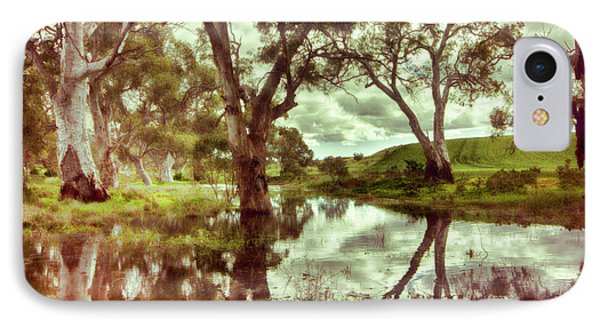 IPhone Case featuring the photograph Gum Creek V2 by Douglas Barnard