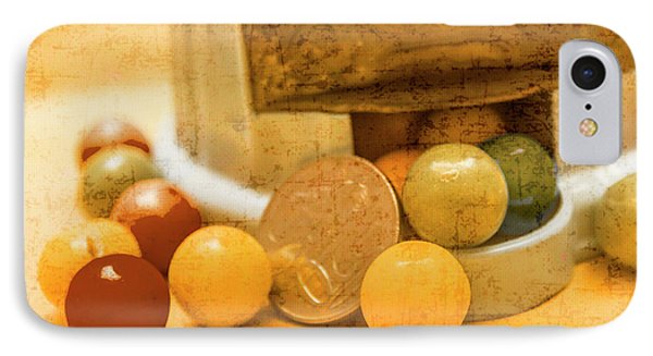 Gumballs Dispenser Antiques IPhone Case by Jorgo Photography - Wall Art Gallery