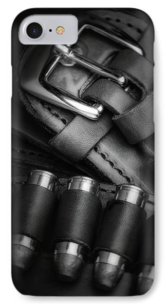 Gunbelt IPhone Case by Tom Mc Nemar