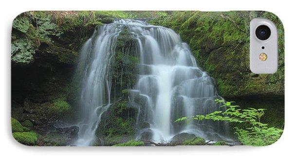 Gunn Brook Slip Dog Falls Mount Toby IPhone Case by John Burk