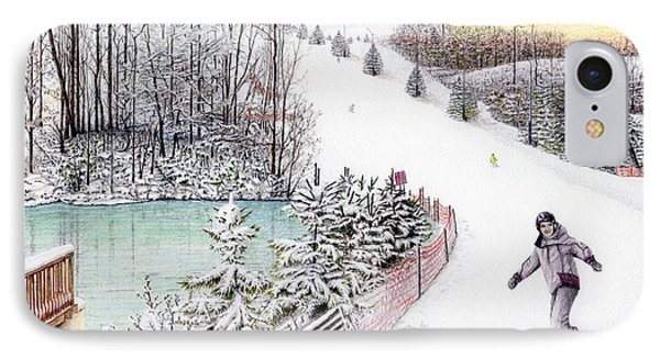Gunnar Slope And The Ducky Pond IPhone Case by Albert Puskaric