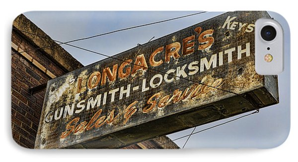 Guns And Locks IPhone Case by Stephen Stookey
