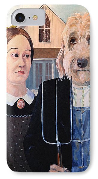 Gunther Goes Goth IPhone Case by Diane Daigle