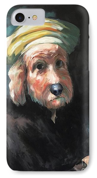 Gunther's Self Portrait IPhone Case by Diane Daigle