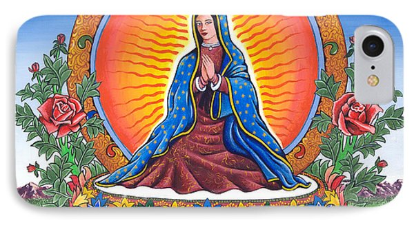 Guru Guadalupe IPhone Case
