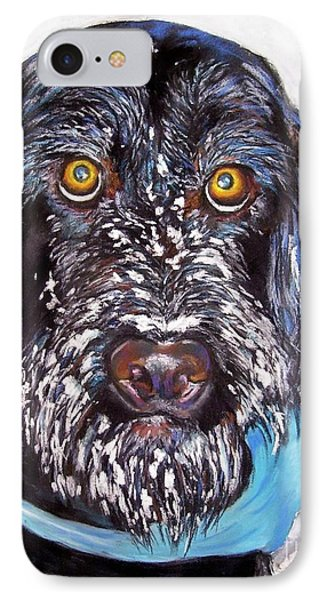 Gus IPhone Case by Frances Marino