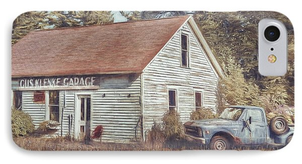 Gus Klenke Garage IPhone Case