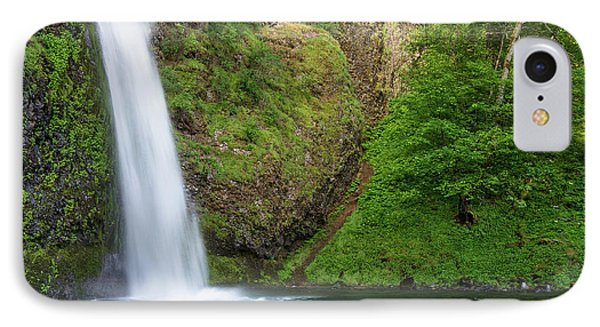 Gushing Horsetail Falls IPhone Case by Greg Nyquist