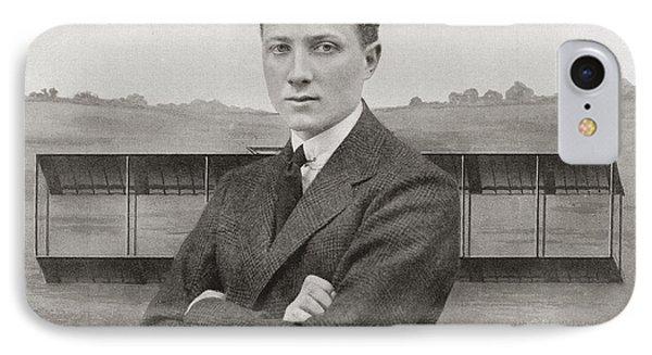Gustav Hamel, 1889 - Missing May 23 IPhone Case by Vintage Design Pics
