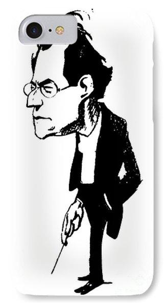 Gustav Mahler (1860-1911) Phone Case by Granger