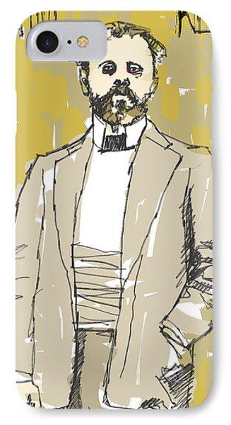 Gustave Klimt IPhone Case by H James Hoff