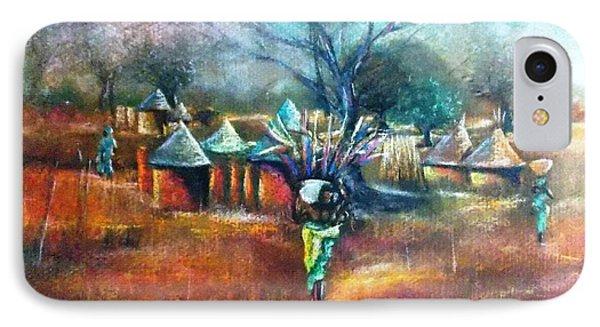 Gwari Village In Abuja Nigeria IPhone Case by Bankole Abe