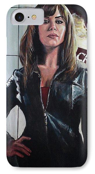 Gwen Cooper IPhone Case by Tom Carlton