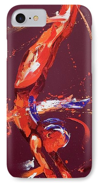 Gymnast Five IPhone Case by Penny Warden