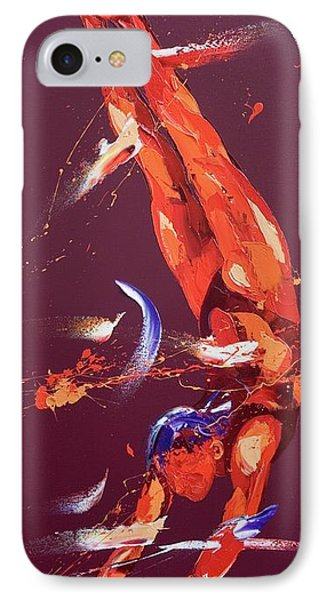 Gymnast Seven IPhone Case by Penny Warden